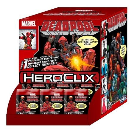 Deadpool Gravity...Heroclix Deadpool Set