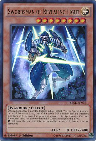 Swordsman Of Revealing Light Sece En095 Ultra Rare 1st