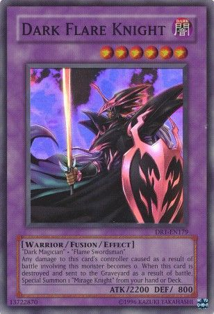 Dark Flare Knight - DR1-EN179 - Super Rare - Dark ...