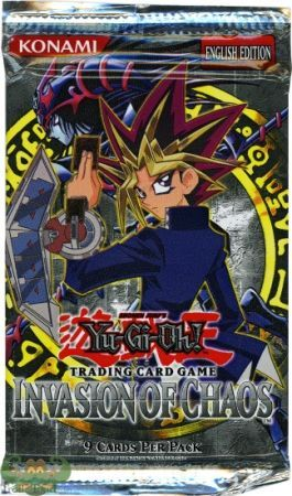 Invasion Of Chaos Booster Pack Ioc Yugioh Yugioh