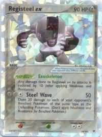 Registeel Pokemon Card Registeel ex - 99/101 ...