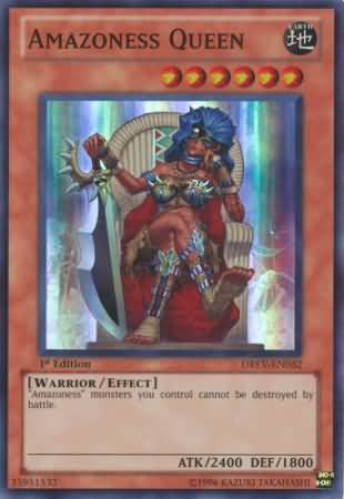 yugioh all amazoness cards