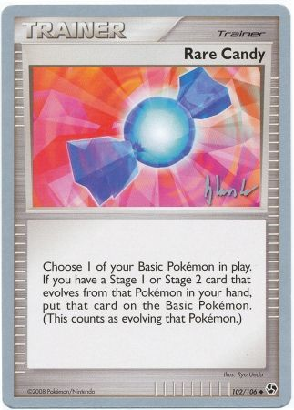 Rare Candy 102 106 World Championship Card Wc