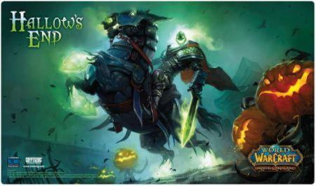 World Of Warcraft Hallow S End Headless Horseman Playmat