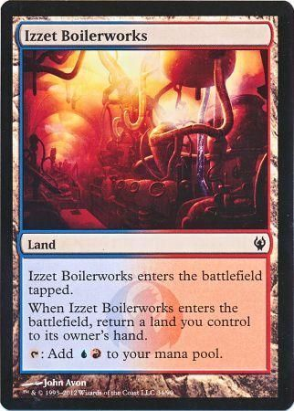 Izzet Boilerworks Duel Deck Izzet Vs Golgari Magic