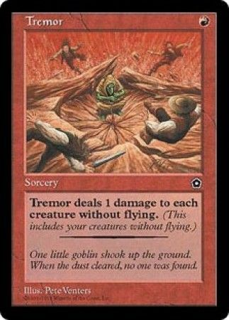 tremor portal the second age singles magic the gathering